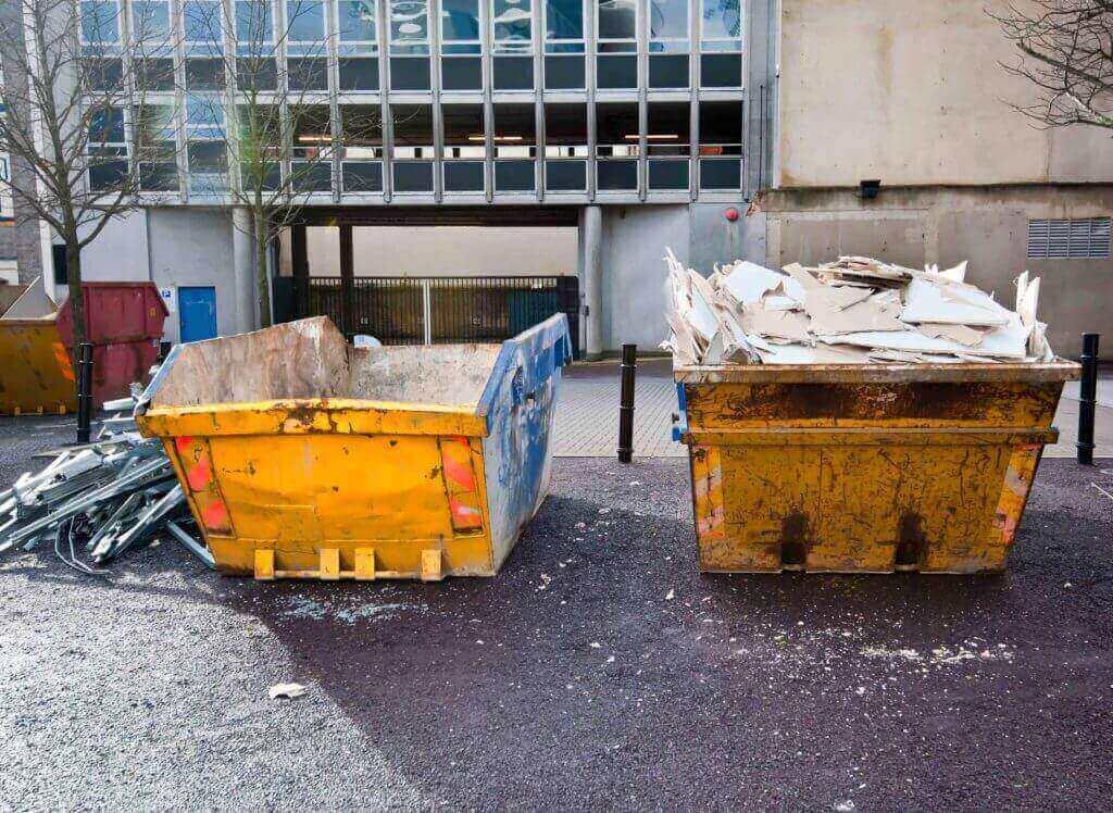 Kontenery na odpady w Poznaniu